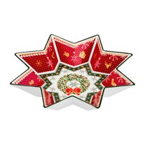Салатник Christmas Collection Диаметр 26 см Высота 5 см - Chanzhou Cheerful Porcelain