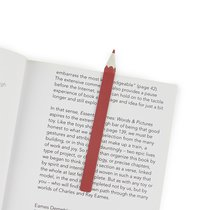 Закладка для книг Graphite красная, цвет красный - Balvi