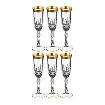 Набор Бокалов Для Шампанского Из 6 Шт. Джесси 200 мл - Crystalite Bohemia