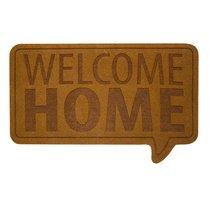 Коврик придверный Welcome Home коричневый, цвет коричневый - Balvi