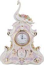 Часы Настольные Лебедь 35x15 см Высота 48 см Циферблат Диаметр 8 см - Sabadin Vittorio