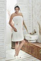 """Набор для сауны """"KARNA"""" женский махровый PARIS 1/3, цвет кремовый, 70x150 - Bilge Tekstil"""