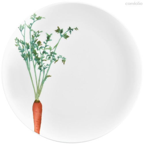 "Тарелка закусочная 24м ""Овощной букет"" ""Морковка"" - Noritake"