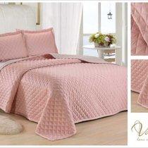 Покрывало PPL-05, цвет светло-розовый, 160x230 - Valtery