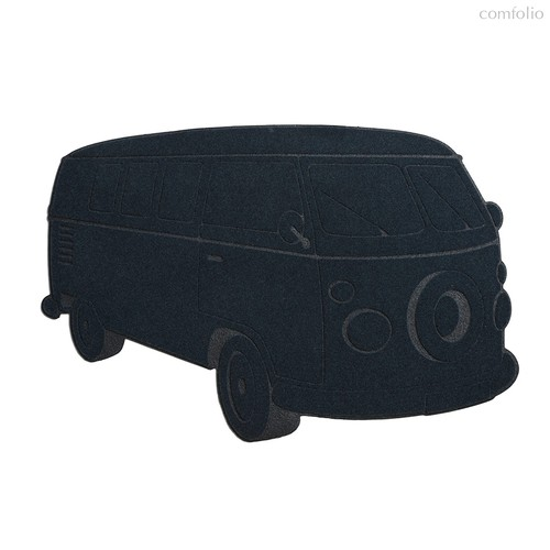 Коврик придверный Van темно-синий, цвет темно-синий - Balvi
