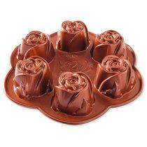 """Форма для выпечки 6 кексов 3D Nordic Ware """"Бутончик"""" 0,5 л, литой алюминий - Nordic Ware"""
