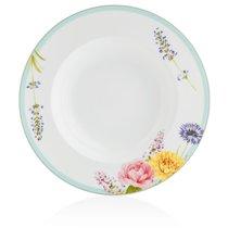 """Тарелка суповая Noritake """"Пикник в саду"""" 24см - Noritake"""