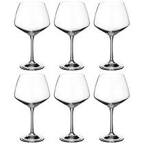 Набор бокалов для вина из 6 шт. GISELLE 580 мл ВЫСОТА 21 см - Crystalex