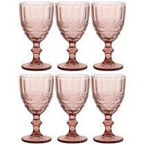 Бокалы для вина Серпентина 6 шт. Серия Muza Color 300 мл / В 17 см - Honkong Maple