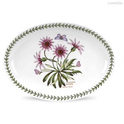 """Блюдо овальное Portmeirion """"Ботанический сад. Газания"""" 28см - Portmeirion"""