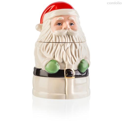"""Банка для печенья Lenox """"Дед Мороз"""" 18см - Lenox"""