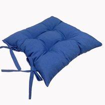 """Подушка на стул """"Lapis blue"""", 41х41 см, P705-Z149/1, цвет синий - Altali"""