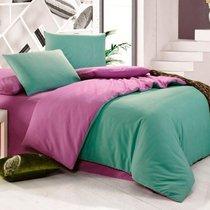 Мята - комплект постельного белья, цвет сиреневый, размер 1.5-спальный - Valtery