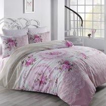 Постельное белье Ranforce Arven, цвет розовый, 2-спальный - Altinbasak Tekstil