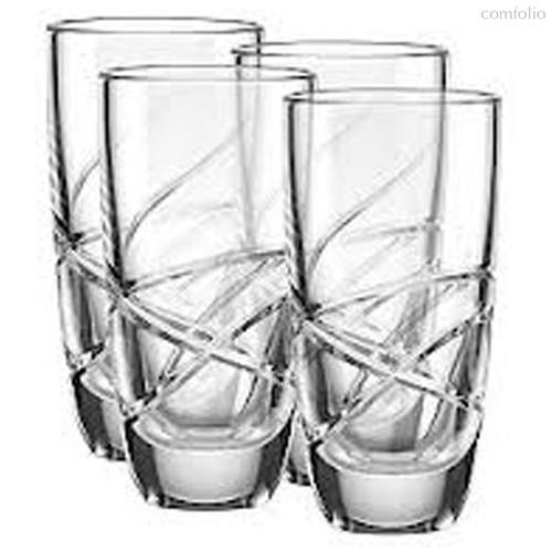 """Набор стаканов для воды Lenox """"Украшение"""" 400мл, 4шт - Lenox"""