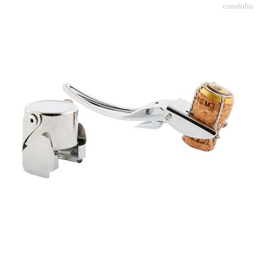 Набор для шампанского Brut серебряный, цвет серебряный - Koala