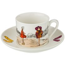 Чайный Набор На 1Пер. 2Пр. Fashion Queen 210 мл - Shunxiang Porcelain