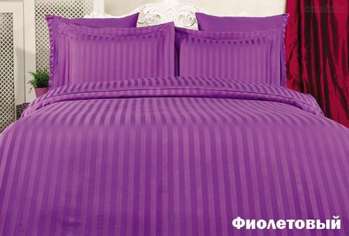 Постельное белье Karna Perla, бамбук, цвет фиолетовый, размер 2-спальный - Karna (Bilge Tekstil)