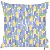 """Чехол для декоративной подушки """"Iris field"""", P502-8327/1, 43х43 см, цвет синий, 43x43 - Altali"""
