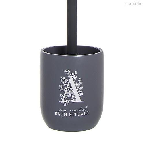 Ершик туалетный Bath Rituals серый, цвет серый - D'casa
