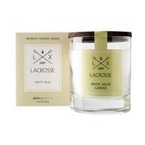 Свеча ароматическая в стекле круглая Lacrosse Белый мускус 40 ч - Ambientair