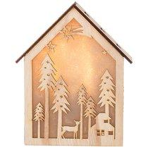 Декоративное Изделие Новогоднее Панно С Подсветкой 21x6 см Высота 26 см - Polite Crafts&Gifts