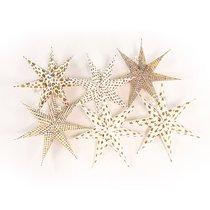 Набор декоративных елочных украшений Stars, 6 шт. - EnjoyMe