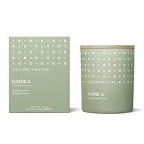 Свеча ароматическая FJORD с крышкой, 200 г (новая) - Skandinavisk