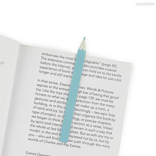 Закладка для книг Graphite голубая, цвет голубой - Balvi
