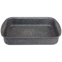Форма Agness Премиум Grace Прямоугольная 35Х26X6,5 см, Трехслойное Покр Granit, Pfoa Free - ISFA Metal Tekstil