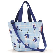 Сумка Shopper XS leaves blue - Reisenthel