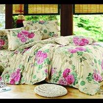 Комплект постельного белья С-146, цвет бежевый, размер 1.5-спальный - Valtery