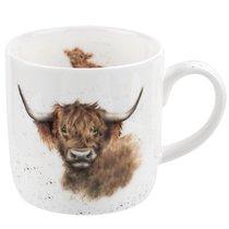 """Кружка 310мл """"Шотландская высокогорная корова"""" - Royal Worcester"""