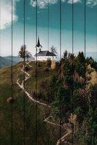 Холм Св. Якоба 60х90 см, 60x90 см - Dom Korleone