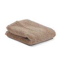 Полотенце для лица коричневого цвета из коллекции Essential, 30х30 см - Tkano