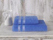 "Полотенце махровое ""KARNA"" PETEK 70x140 см 1/1, цвет голубой - Bilge Tekstil"