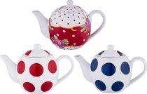 Чайник Заварочный 500 Мл. 3 Вида В Ассортименте - Porcelain Manufacturing Factory