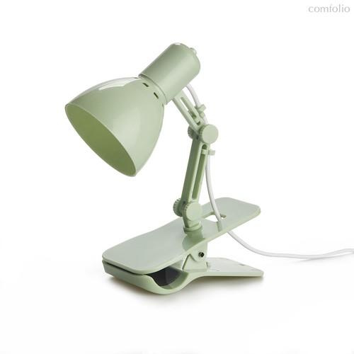 Лампа для чтения Clamp зеленая, USB, цвет зеленый - Balvi