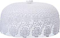 Крышка Белая Диаметр 30 см ,Высота 14 см - Arts & Crafts