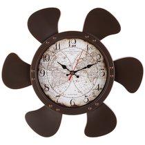 Часы Настенные Кварцевые Карта Мира 38X35 см - Arts & Crafts