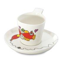 Набор 2шт чашек для чая с блюдцем 0,24л Eclipse ornament - BergHOFF