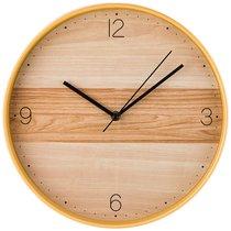 Часы Настенные Кварцевые Клен Танзау Диаметр 30 см Диаметр Циферблата 29 см - Arts & Crafts