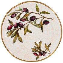 Тарелка Обеденная Cuore Olives 29 см Без Упаковки - Ceramica Cuore