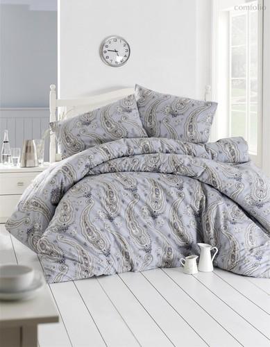 Постельное белье Ranforce Fellice, цвет голубой, размер 1.5-спальный - Altinbasak Tekstil
