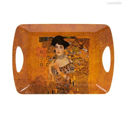 Поднос большой 49х30см Климт Золотая Адель - Lesser & Pavey