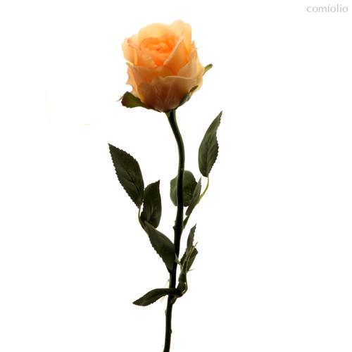 Роза Богема розовая 65 см живое прикосновение (24 шт.в упак.) - Top Art Studio