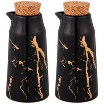 Набор Для Масла И Уксуса Lefard Fantasy 2 Бутылки 14x6,5 см 200 мл Черный - Lefard
