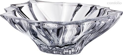 ФРУКТОВНИЦА PLANTICA ДИАМЕТР 33 см . ВЫСОТА 11 см ., цвет прозрачный - Aurum-Crystal