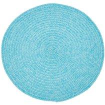 Салфетка подстановочная круглая 38см, голубой - Harman
