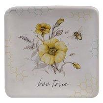 Тарелка пирожковая Certified Int. Пчелки 15х15см, керамика - Certified International